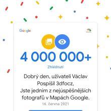 4 000 000 zobrazení fotografií